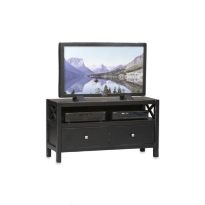 Linon Home Anna Media Center in Black