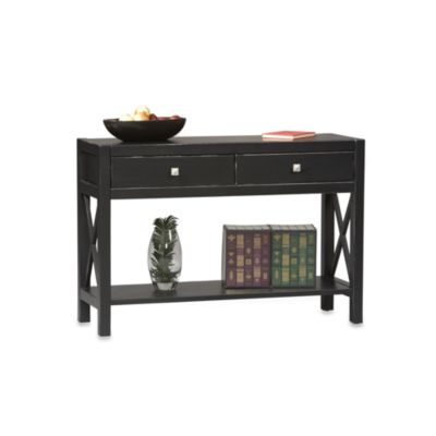 Anna Console Table in Black