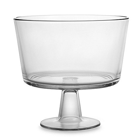 Luigi Bormioli Footed Serving Bowl