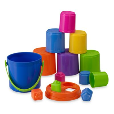 International Playthings Nest & Stack Buckets