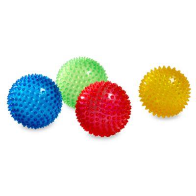 Edushape® 4-Inch Sensory Balls (Set of 4)