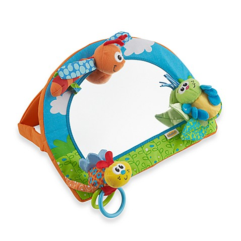 Infantino® 2-in-1 Bug Buddies Activity Mirror