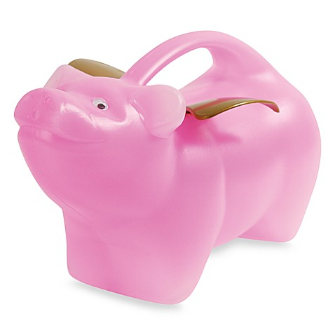 Plastic Watering Can - Flying Pig