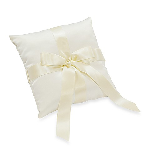 Cathy's Concepts Tied Bow Ring Bearer's Pillow