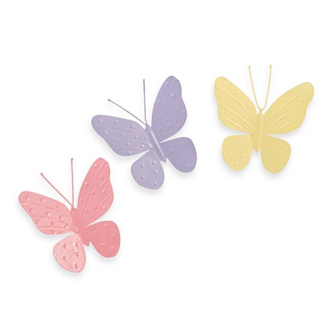 Jubilee Butterfly Magnets (Set of 3)