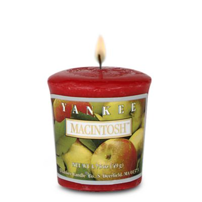 Yankee Candle Red Votive Candle