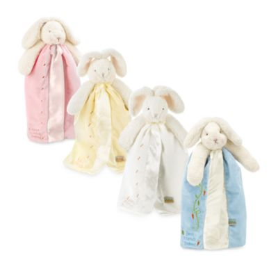 Bunnies by the Bay Buddy Blanket - Yellow