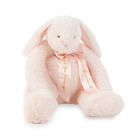 Bunnies by the Bay Goodness Gracious Bunny Plush in Pink
