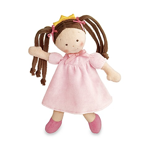 North American Bear Co. Rosey Cheeks™ Plush Brunette Little Princess Doll