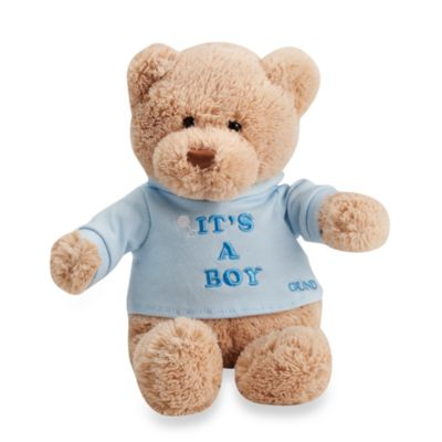 Gund® It's a Boy Plush 12-Inch Teddy Bear