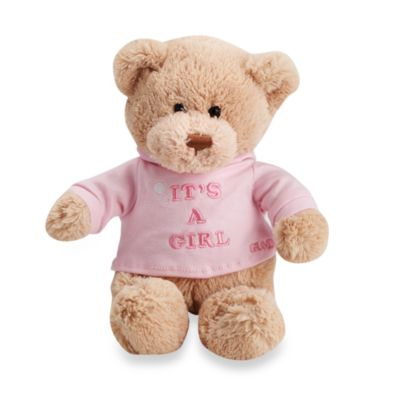 GUND It's a Boy/Girl Plush 12-Inch Teddy Bear > GUND It's a Girl Plush 12-Inch Teddy Bear