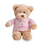 Gund® It's a Girl Plush 12-Inch Teddy Bear