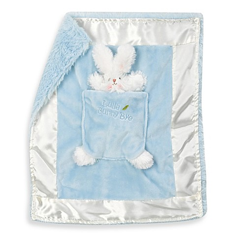 Bunnies by the Bay Lulla Bunny Bye's Binkie Blanket