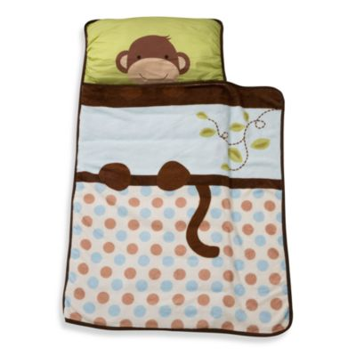 Napmats > Lambs & Ivy® Monkey Nap Mat in Brown