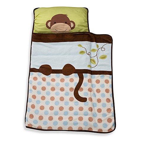 Lambs & Ivy® Monkey Nap Mat in Brown