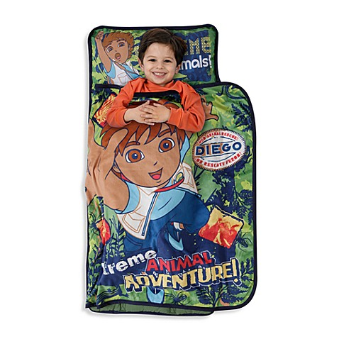Baby boom go diego go animal adventure nap mat bed bath for Go diego go bedding