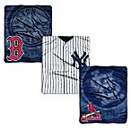 MLB Retro Raschel Throw Blanket