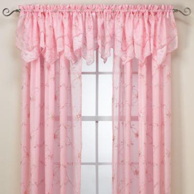 Laya Pink Valance
