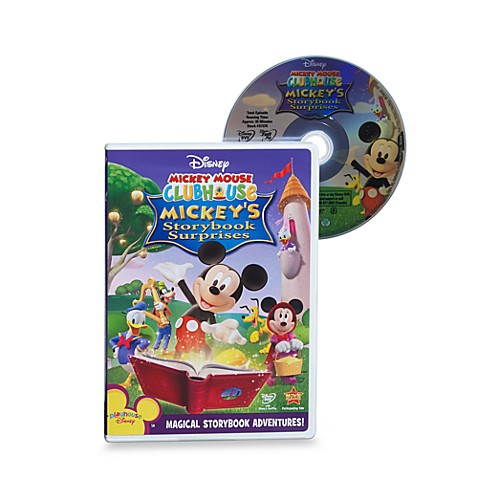 Disney® Mickey Mouse Clubhouse: Mickey's Storybook Surprises DVD