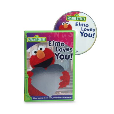 Sesame Street® Elmo Loves You DVD