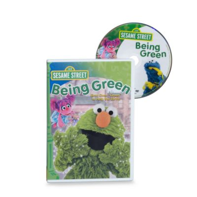 Sesame Street® Being Green DVD