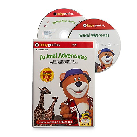 Baby Genius® Animal Adventures DVD with Bonus CD