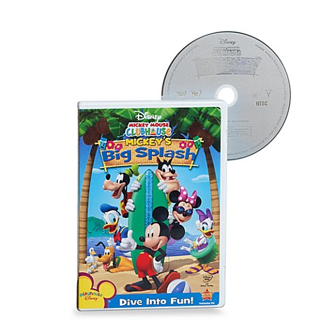 Disney® Mickey Mouse Clubhouse: Mickey's Big Splash DVD