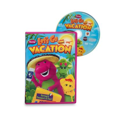 Barney: Let's Go On Vacation DVD