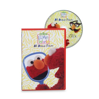 Sesame Street® Elmo's World in All About Faces DVD