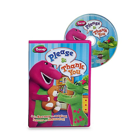 Buy Barney Please Amp Thank You Dvd From Bed Bath Amp Beyond