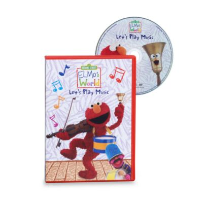Sesame Street® Elmo's World® in Let's Play Music DVD