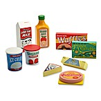 Melissa & Doug® Wooden Fridge Food Set