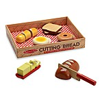 Melissa & Doug® Wooden Bread Cutting Set