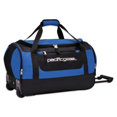 Pacific Gear 20-Inch Rolling Duffel in Blue
