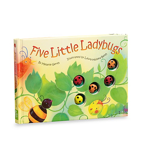 Five Little Ladybugs Die Cut Disappearing Character Board Book