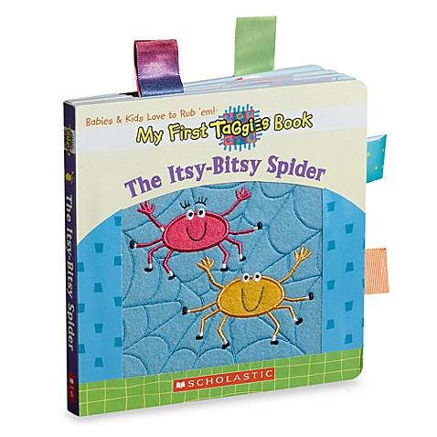 My First Taggies Book: The Itsy-Bitsy Spider
