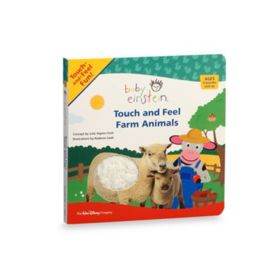 Baby Einstein® Touch and Feel Farm Animals Board Book