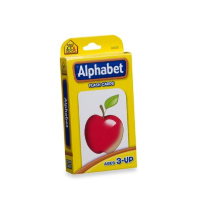 School Zone Publishing Company® Alphabet Flash Cards