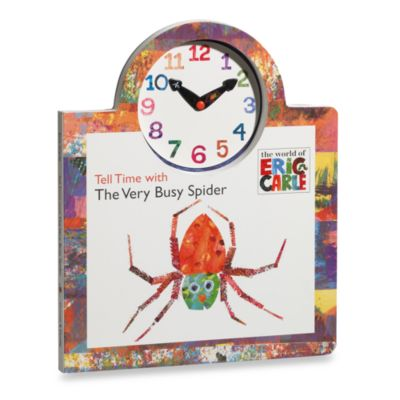 Eric Carle's Tell Time with the Very Busy Spider Board Book