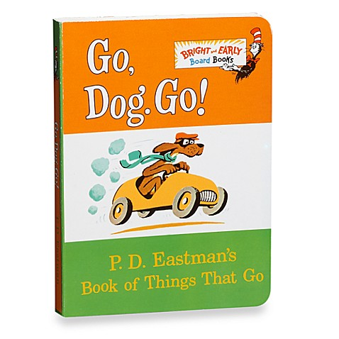 GoDogGo! Board Book