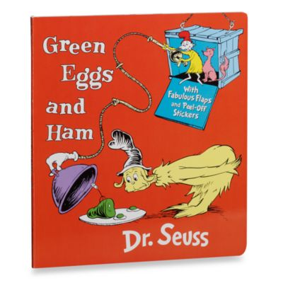 Green Eggs and Ham with Stickers Board Book by Dr. Seuss