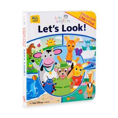 Baby Einstein® Let's Look! First Look and Find™ Book