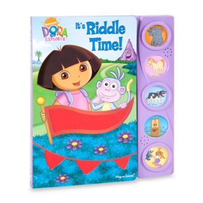 Play-a-Sound® Nickelodeon™'s Dora the Explorer. It's Riddle Time! Board Book