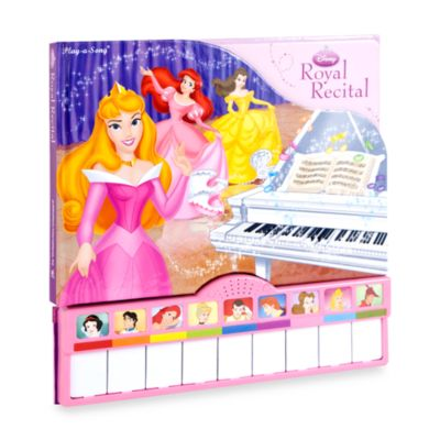 Play-a-Sound® Disney Princess Royal Recital Book