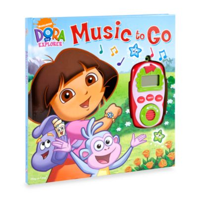Books > Play-a-Sound® Dora the Explorer™ Music to Go Digital Music Player Book