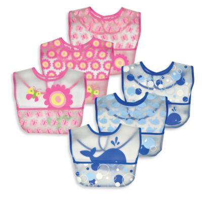 green sprouts® by i play.® Waterproof Bibs (Set of 3)
