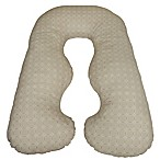 Leachco® Back N' Belly Chic Pregnancy Support and Feeding Pillow in Taupe Rings