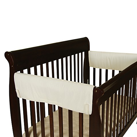 leachco easy teether extra large side rail crib rail covers set of 2 bed bath beyond. Black Bedroom Furniture Sets. Home Design Ideas