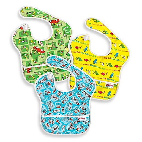 Bumkins® Dr. Seuss Bibs (Set of 3)