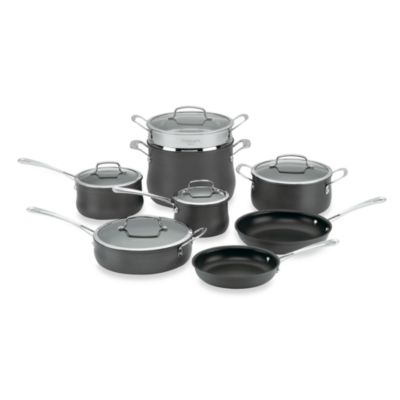 Cuisinart® Contour Hard Anodized 13-Piece Cookware Set